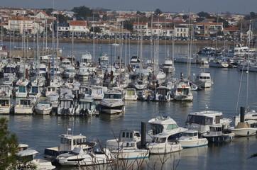 Port de S-Gilles Croix de Vie, Vendée, France