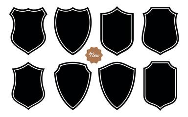 Badge Shape Set Vector Template