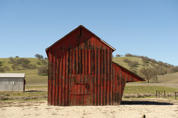 Barn in California