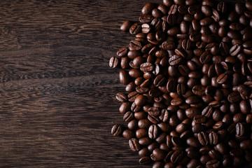 コーヒー豆の背景素材