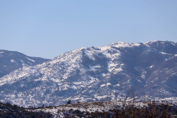 Snowy Mountains and Hills, Winter Season