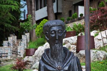 Macedonia lake Ohrid, St. Naum monastery