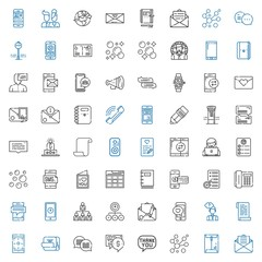 message icons set