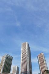 ビル、都市の景観