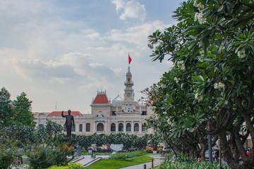 人民委員会庁舎 ホーチミン ベトナム