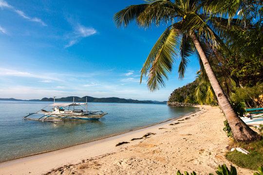 Philippine Coron Island Beautiful beach