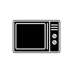 microwave icon. Element of Appliances for mobile concept and web apps icon. Glyph, flat icon for website design and development, app development