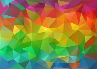 Colorful Pattern Geometric