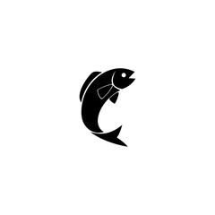 illustration of fish icon