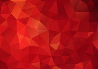 Red Pattern geometric04