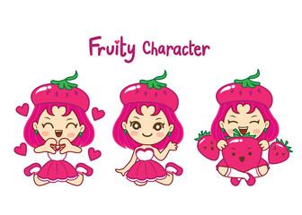 Fruity character set