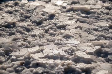 Dead Sea salt texture