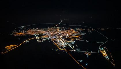Aerial view of Astana, Kazakhstan
