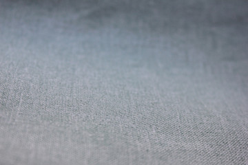 Gradient Grey Texture Background of  Seamless Empty Fabric, Close Up Top View. Washy Faded Fabric Backdrop, Empty Simple Canvas Design to Use as Copy Space, Template, Layout, Mock Up or Banner
