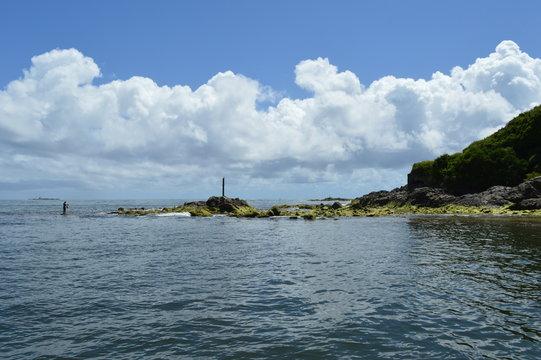 Sailing in the coast