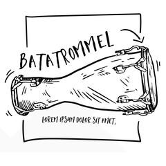 Bata-Trommel / Instrument / Element