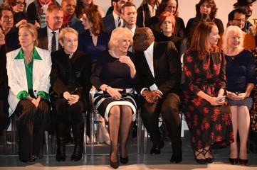 Britain's Camilla, the Duchess of Cornwall attends London Fashion Week
