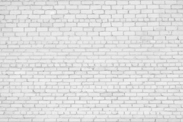 Loft style, white brick wall. Textile Background