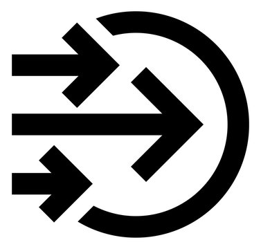 Bulk Transfer In Vector Icon