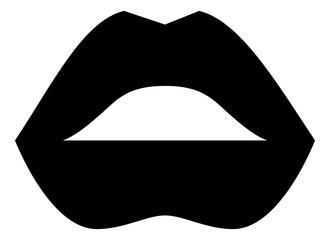Female Lips Kiss Icon