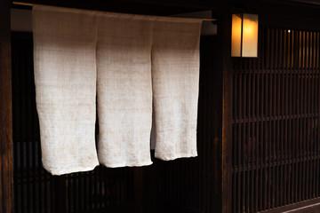 金沢の暖簾