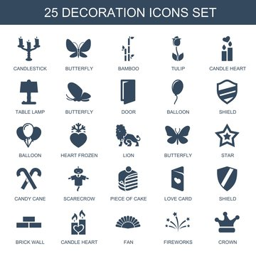 25 decoration icons