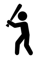 野球のピクトグラム