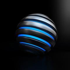 Globe Light Blue