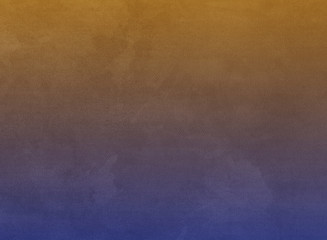 Gradient watercolor for artisan concept background or texture