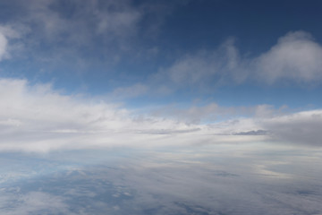上空の写真