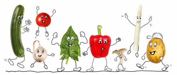 Biologic vegetable, comic 2