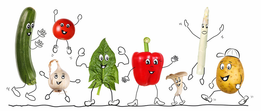 Biologic vegetable, comic 2