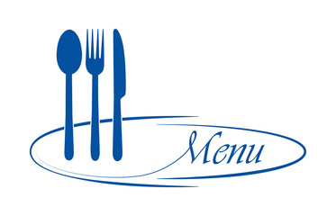 Logo for catering or gastroservice restaurant menu design