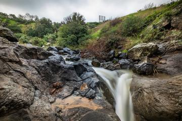 Sa'ar waterfall, northen israel