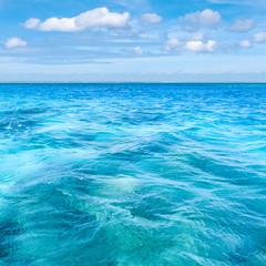 南国の海の風景 SNS用