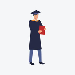 Graduate standing and holding diploma