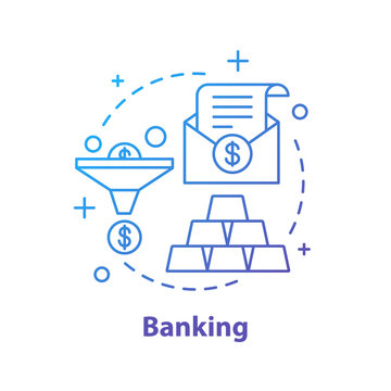 Banking concept icon