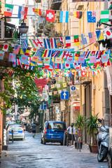 Photo sur Plexiglas Naples Napoli, Qartiere Spagnolo