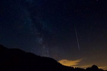 étoile filante, nuit des étoiles en Août
