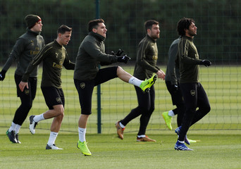 Europa League - Arsenal Training