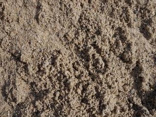 Helle Sand Textur Bausand