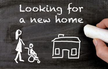 looking for a new home disabled person
