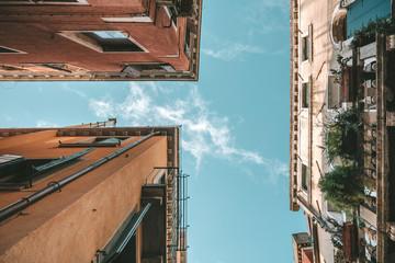 Narrow streets in Venice, Italy