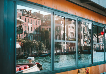 Famous buildings in Venice, Italy