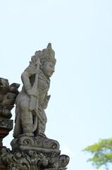 Statue in Pura Taman Ayun