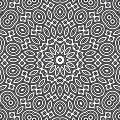 background floral pattern geometric kaleidoscope. phone.
