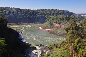 Iguazu Brazil Argentina South America Waterfall