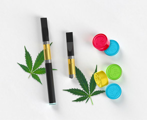 Medical Marijuana Products - Vape Pen, Concentrate, Edibles, Gummies, Cannabis Leaf