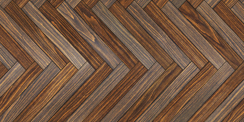 Seamless wood parquet texture horizontal herringbone common
