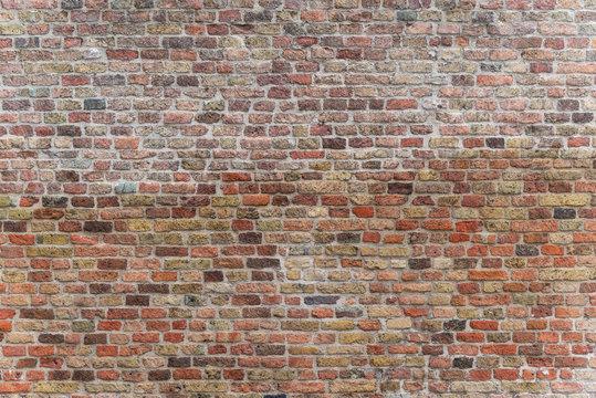 Schöne alte Backsteinmauer Backsteinwand Mauer